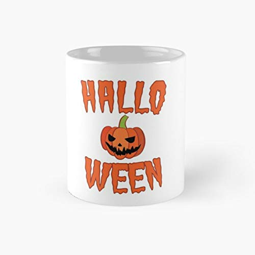 Halloween Spruch 110z Mugs -