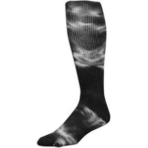 (Black Small Tyed Dye (Tye Dyed) Knee High Socks for all Sports (Volleyball, Softball, etc). 8 Tye Dye Colors, 3 Sizes (Black, Small))