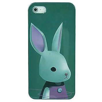 ca1d5afa9b7 comprar Teléfono celular Ardilla cubierta de la caja de accesorios de piel  para Iphone 5 , Verde: Amazon.es: Electrónica