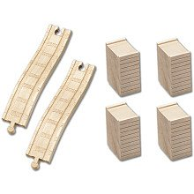 - Thomas & Friends Wooden Railway Set - Ascending Track and Riser Accessory Pack