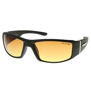 X-Loop - HD Active Frame Sports Wrap Sunglasses (Matte Black)