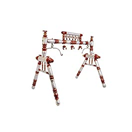 Ghodiyu – Traditional Indian Wooden Cradle, Desi Cradle- Baby Swing – Cherry White