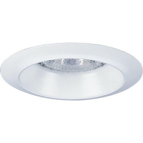 - Progress Lighting P8041-WL28 Open Shower Trim Wet Location Listed, White