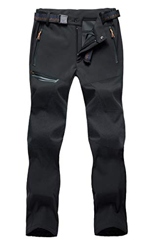 BIYLACLESEN Camping Pants Mens Slim Fit Mountain Pants Spring Summer Pants Fishing Pants for Men Quick Dry Hiking Pants Travel Pants Men Convertlble