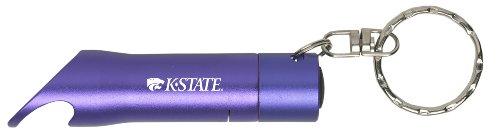 Kansas State University - LED Flashlight Bottle Opener Keychain - (Kansas State Led)