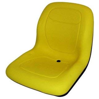John Deere Asiento Amarillo Cortacésped schlepper Asiento Tractor Asiento Gator Trail, Worksite, Turf,