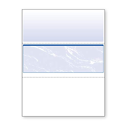 (DocuGard Business Checks, Blue Marble Middle, 24 Pound Stock, 8.5 x 11 Inches, 500 Sheets per Ream (04509))