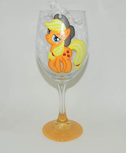 Applejack wine glass -