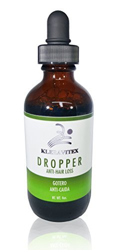 Kleravitex Dropper Anti Hair Loss Treatment & Growth Lotion 4oz - Gotero AntiCaida by Kleravitex