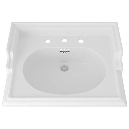 (Rohl U.2863WH BASINS, 25-Inch Wide by 19 1/2-Inch, White)