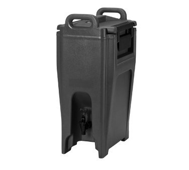 Ultra Camtainer Beverage Carrier (Cambro UC500131 Ultra Camtainer Beverage Carrier, Insulated Plastic, 5-1/4 Gallon, Dark Brown, NSF)