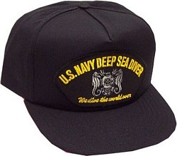 Navy Deep Sea Diver - U.S. Navy Deep Sea Diver Ballcap