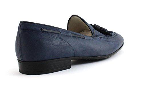 Mocassino Corvari 6545 Blu Taglia 43,5 - Colore BLU