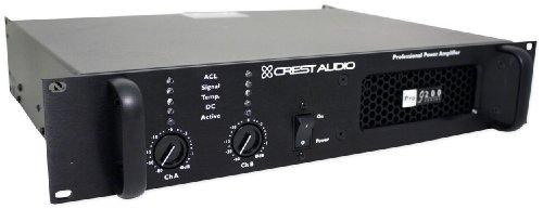 - Crest Audio 200 Series Pro9200 6500 Watt Professional Power Amplifier PRO 9200