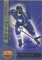 (Juha Vurovirta Team Finland 1994 Signature Rookies Certified Autographed Card - Certified Autograph - Rookie Card. This item comes with a certificate of authenticity from Autograph-Sports. Autographed)