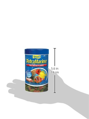 Picture of Tetra TetraMarine Large Saltwater Flakes, 2.82-Ounce