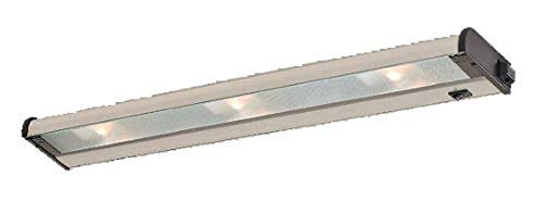 CSL Lighting NCAX120L-24BZ Counter Attack 24IN Undercabinet Fixture with SpeedLink, Bronze Finish with Prismatic Glass Diffuser