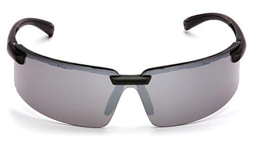 Pyramex Surveyor Silver Mirror Lens With Black - Pyramex Sunglasses