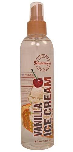 Bath & Body Works Temptations Vanilla Ice Cream Body Splash