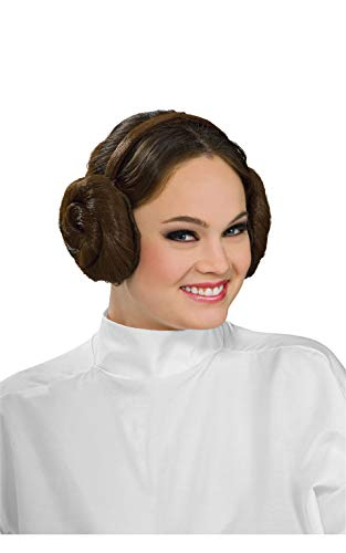 Rubie's Women's Star Wars Princess Leia Headband, Brown, One Size]()