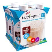 Nutrisystem Vanilla Shakes, 4-11 oz. bottles (Pack of 2)