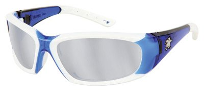 Crews Force Flex Next Generation Ultra-Flexible Safety Glasses FF327 With Silver Mirror Lens by Crews Safety Products
