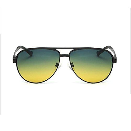 green De Sol Nocturna Conducción Marco Gafas Tipo HONEY Y De Hombres Polarizada De Gafas Color Para green yellow Gafas Black Visión Black Grande nbsp; Noche nbsp; Día yellow aqpxUEw7x