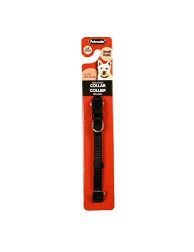 Doskocil Aspen Pet Products Adjustable Collar, 3/8 x 8-14, Black Aspen Pet Adjustable Dog Collar