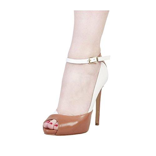 PIERRE CARDIN PIERRE CARDIN EW-1002 Mujer Pumps/Zapatos De Tacón Con Correa De Tobillo Ajustable Tacón: 12 cm