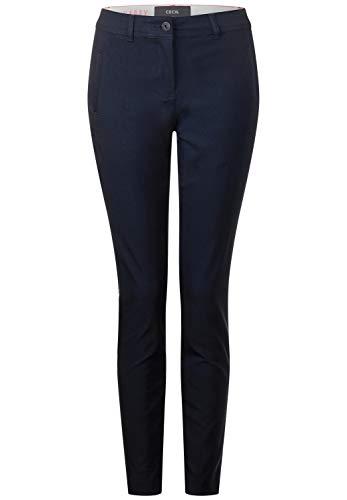 Deep Foncé blau W28 Blue Cecil 30 Femme Pantalon Bleu qx6ZtY