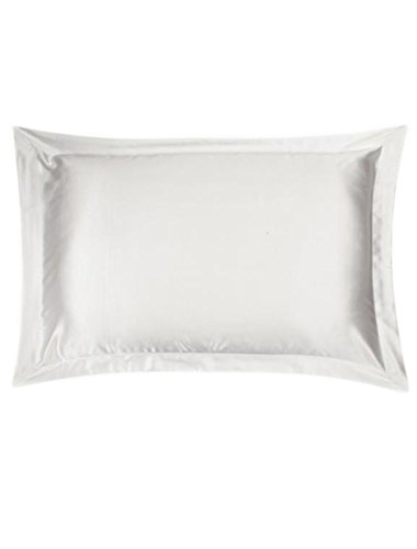 Price comparison product image Ayiyoy 100% Mulberry Silk Pillowcase with Silky Underside Polyester White
