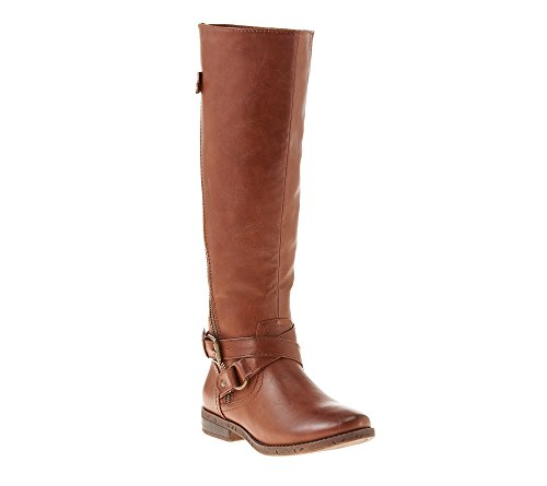 Rampage+%22Iona%22+Tall+Riding+Boots+Brown+8.5+M