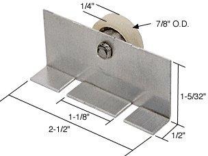 Roller Shower Package Door Assembly (CRL 7/8
