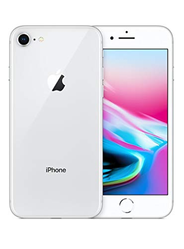 Apple iPhone 8, Boost Mobile, 64GB - Silver (Renewed)