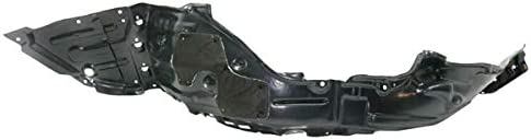 Koolzap For 17-18 Prius Prime Front Splash Shield Fender Liner Panel Plastic Driver Side