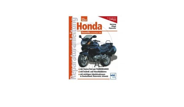 Reparación instrucciones Honda - 702.03.81 - 5251 de: Amazon.es: Coche y moto