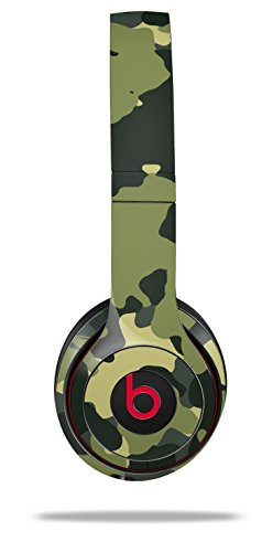 WraptorSkinz Skin Decal Wrap for Beats Solo 2 and Solo 3 Wireless headphones WraptorCamo Old School Camouflage Camo Army (BEATS NOT INCLUDED)