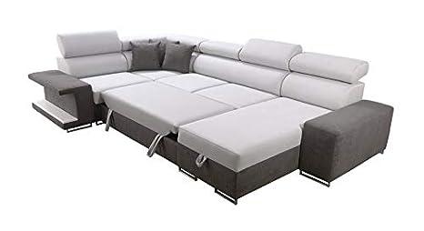 Ideale Sofá tapizado Viki XL 26, función de Dormir: Amazon ...