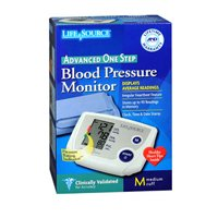 LifeSource One Step Auto Inflate Blood Pressure Monitor