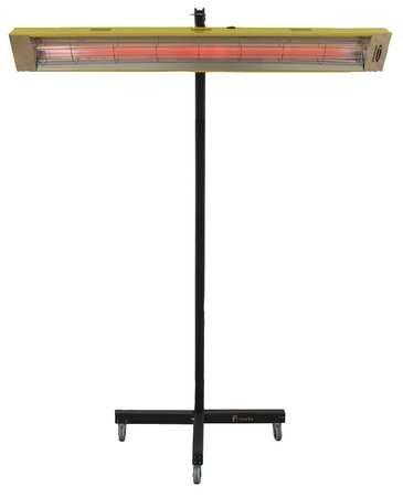 Infrared Panel Heater, 120V, 5120 BtuH