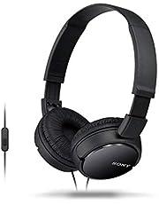 Sony MDRZX110APBCE Headphone with Mic, Black