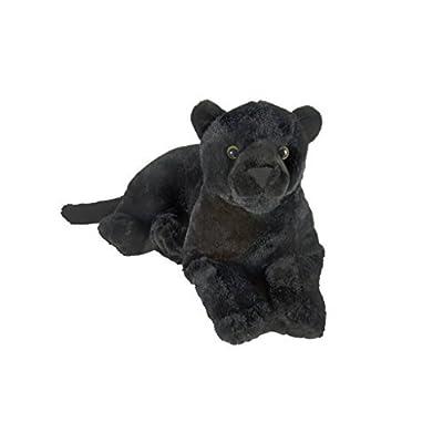 "Wild Republic Black Jaguar Plush, Stuffed Animal, Plush Toy, Kids Gifts, Zoo Toy, 18"": Toys & Games"