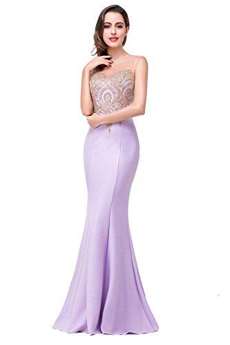 Sheer Embellished Party Dress - 4