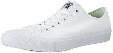 Converse Chuck Taylor All Star II Ox White Textile 3 D(M) US Men / 5 B(M) US Women