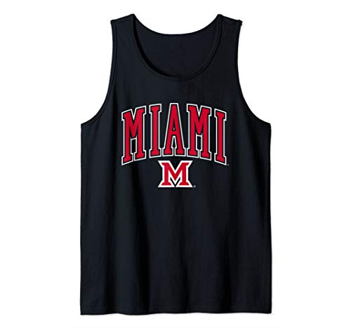 (Miami University MU RedHawks NCAA 19MU-1 Tank Top)