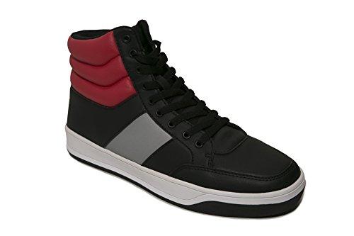 sean-john-mens-dagger-sneaker-9-black-red