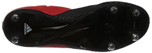 adidas Ace 17.3 Primemesh Sg, Botas de Fútbol para Hombre Rojo (Redfootwear Whitecore Black)