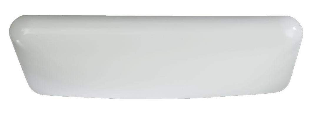 Four Light White White Glass Fluorescent Undercabinet Light
