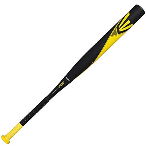 Easton FS1 Fast Pitch Bat, Yellow/Black/Medium Yellow, 33