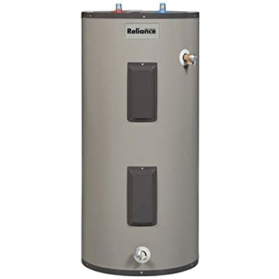 "Reliance 9-40-EKRS100 Medium D 4500W 240V Upper and Lower Element 50"" x 22"" D Electric Water Heater with 3"" Insulation, 95 Energy Factor, 40 gallon"